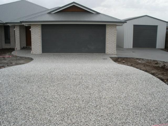 Exposed Aggregate - J&K Hilt Concreting Toowoomba