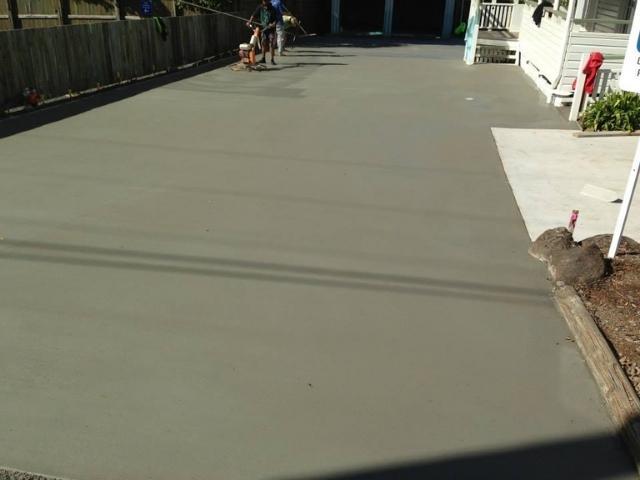 Plain Concrete - J&K Hilt Concreting Toowoomba